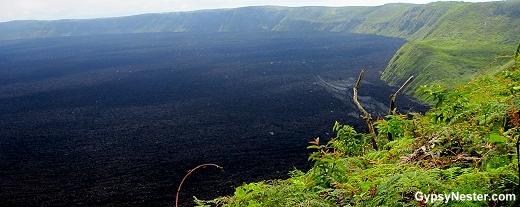 Volcán Sierra Negra, Isabella Island, Galapagos, Ecuador
