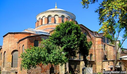 Hagia Irene inside Topkapı Palace in Istanbul, Turkey