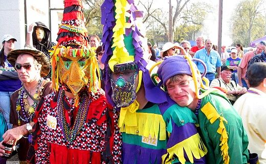 Mardi Gras in Eunice