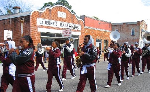 Jeanerette's Krewe of Ezana Mardi Gras Parade