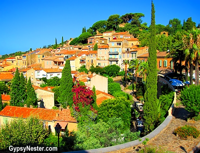 Bormes-les-Mimosas, Provence, France