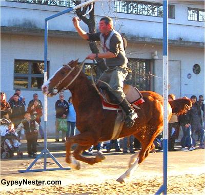 Carrera de Sortija, or Race of the Ring at Feria de Mataderos