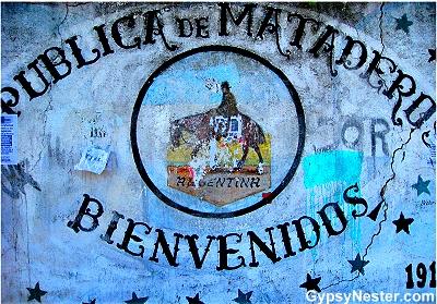 Feria de Mataderos Mural