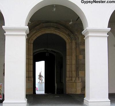 Bratislava Castle arch, Slovakia