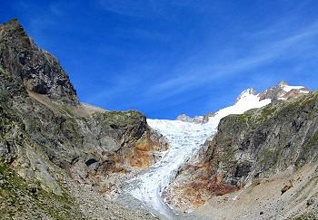 Prè de Bar glacier