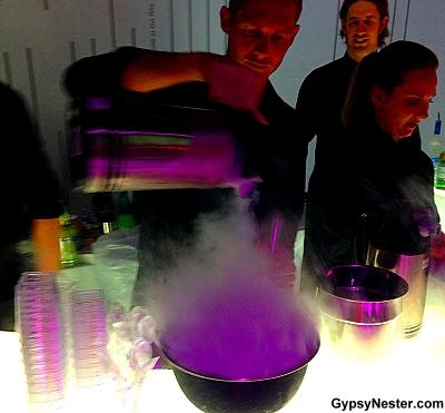 liquid nitrogen margaritas