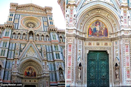Basilica di Santa Maria del Fior in Florence, Italy