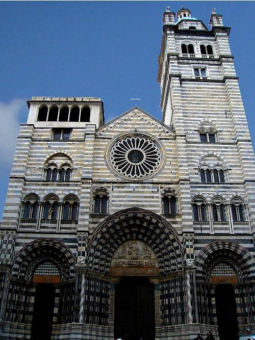 Cathedral San Lorenzo, Genoa Italy