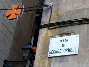 Plaça de George Orwell