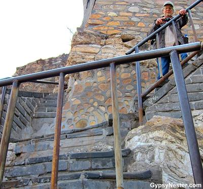 David at the Great Wall of China