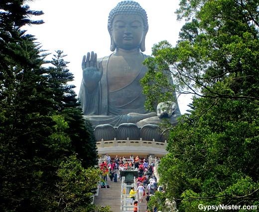 Tian Tan Buddha AKA Big Buddha, Hong Kong
