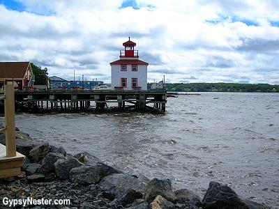A quay in Pictou, Nova Scotia, Canada