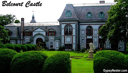 Belcourt Castle in Newport, Rhode Island