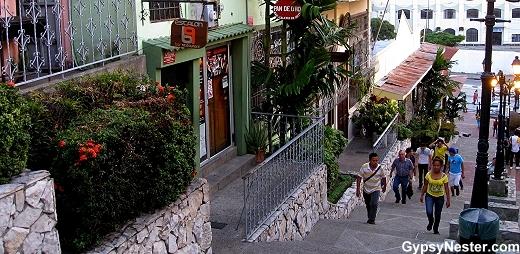 Santa Ana Hill, Guayaquil, Ecuador