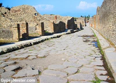A Pompeii road
