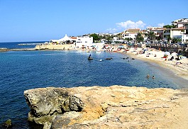 Balai Beach in Porto Torres, Sardinia