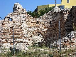 Roman Ruins in Porto Torres, Sardinia