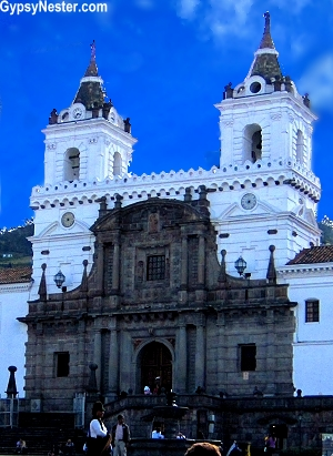 Iglesia y Monasterio de San Francisco, Quito Ecuador, South America
