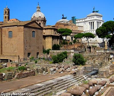 Forum of Rome, Italy