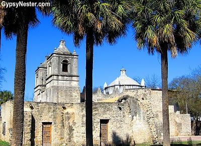 Mission Nuestra Señora de la Purísima Concepción in San Antonio, Texas