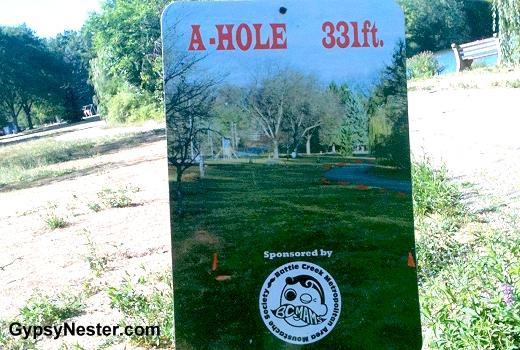 A-Hole 331 feet