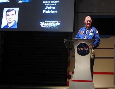 Space Shuttle Astronaut John Fabian