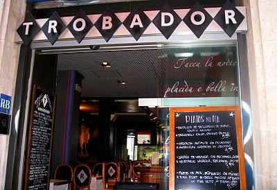 Trobador in Barcelona, Spain