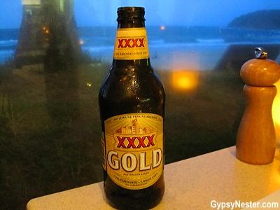Four x beer in Queensland, Australia