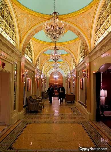 Peacock Alley at the Fairmont Copley Plaza Hotel in Boston