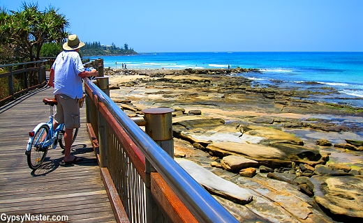 Caloundra Coastal Walk in Queensland, Australia