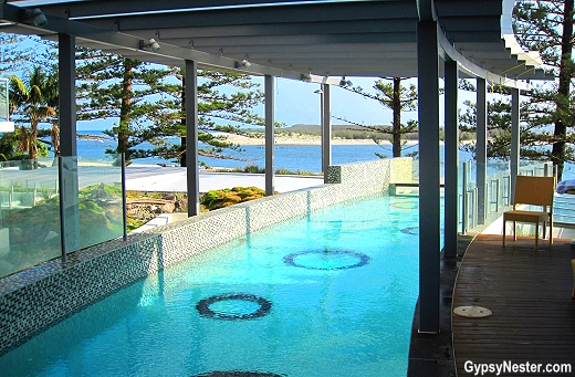 Pools at Rumba Beach Resort in Caloundra