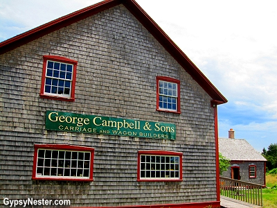 The Campbell Carriage Factory in New Brunswick, Canada