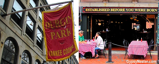 Durgin-Park is the oldest existing restaurant in Faneuil Hall Marketplace in Boston