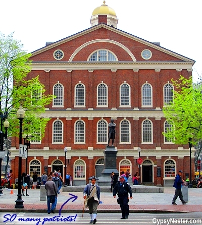 Stopping in at Faneuil Hall has been an everyday event in Boston since 1742