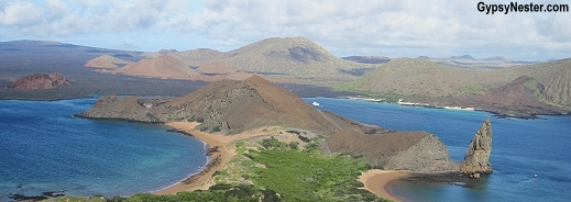 Beaches of Bartolome in the Galapagos