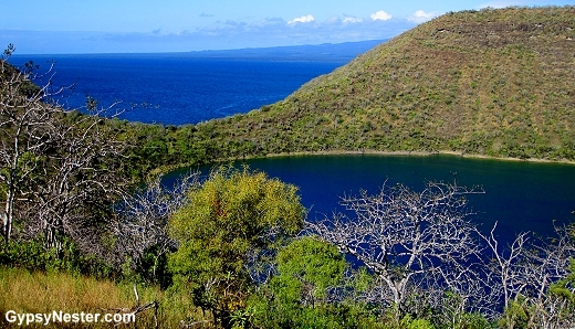 Darwin's Lagoon in the Galapagos Islands