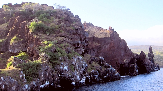 Santiago Island in the Galapagos