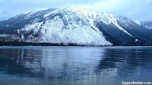 Glacier National Park in the winter!