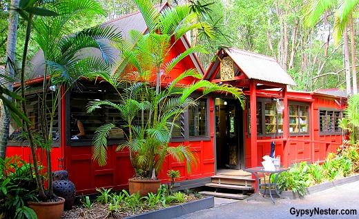 The Spirit House Cooking School in the Hinterlands of Queensland Australia