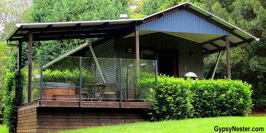 Our villa at Spicers Tamarind Resort in the Hinterlands of Queensland Australia