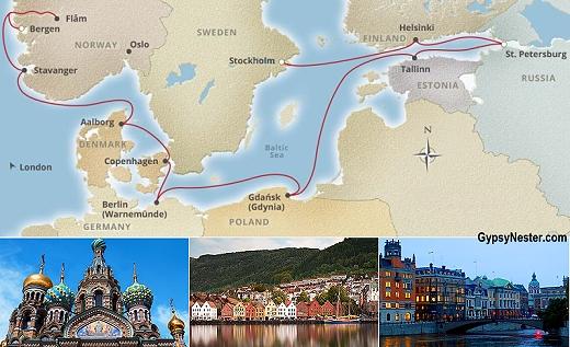 Cruising through the homelands of the Vikings!
