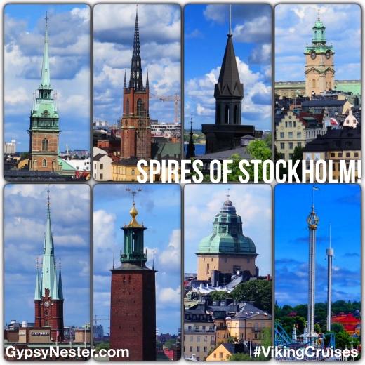 The inspiring spires of Stockholm, Sweden