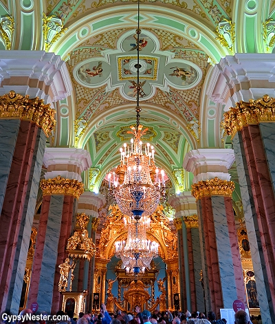 The Peter and Paul Cathedral, St. Petersburg, Russia
