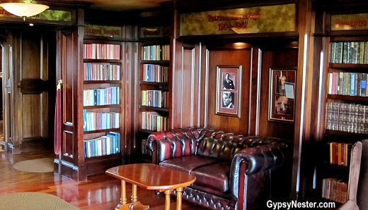W.B. Yeats Library at the Irish Cottage in Galena Illinois