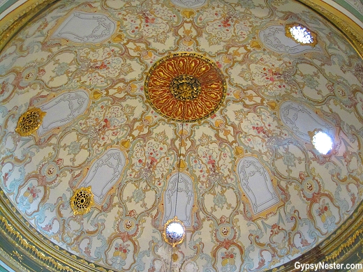 The dome of the Imperial Council, Istanbul, Turkey
