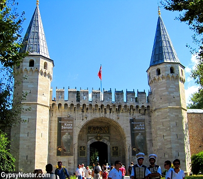 The Gate of Salutation , Topkapı Palace, in Istanbul, Turkey