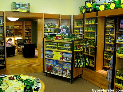 The John Deere Store in Moline, Illinois