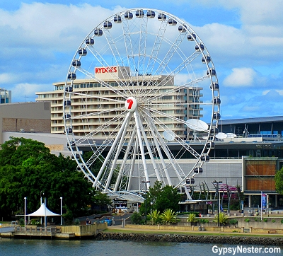 The Wheel of Brisbane in Queensland, Australia