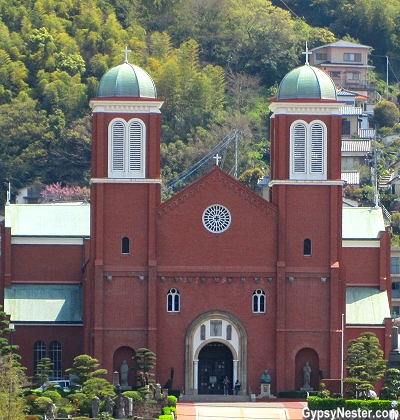 Urakami Cathedral in Nagasaki, Japan
