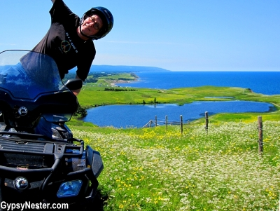 ATV ride with Pirate's Haven in Robinsons, Newfoundland!